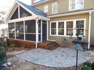 Cary screen porches