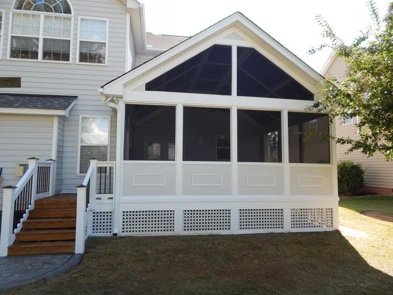 apex screen porch