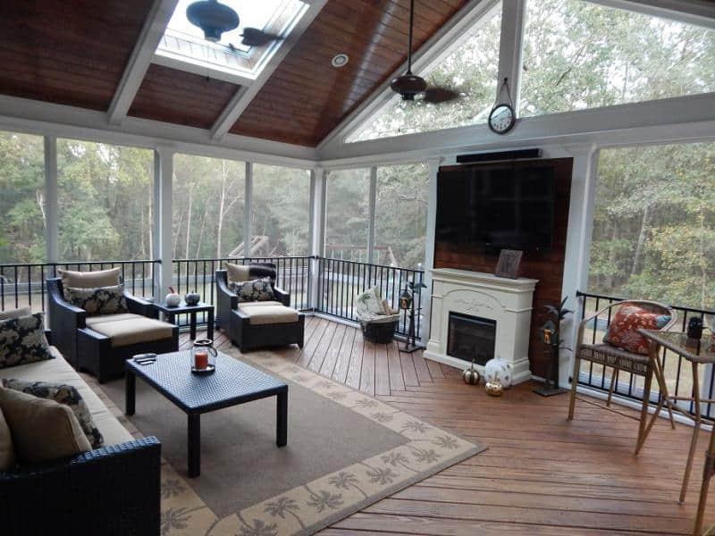 Screen Porch Options Pro Built Construction Raleigh