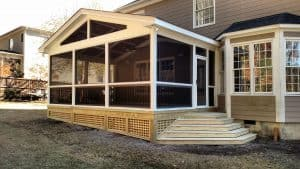 Apex screen porches