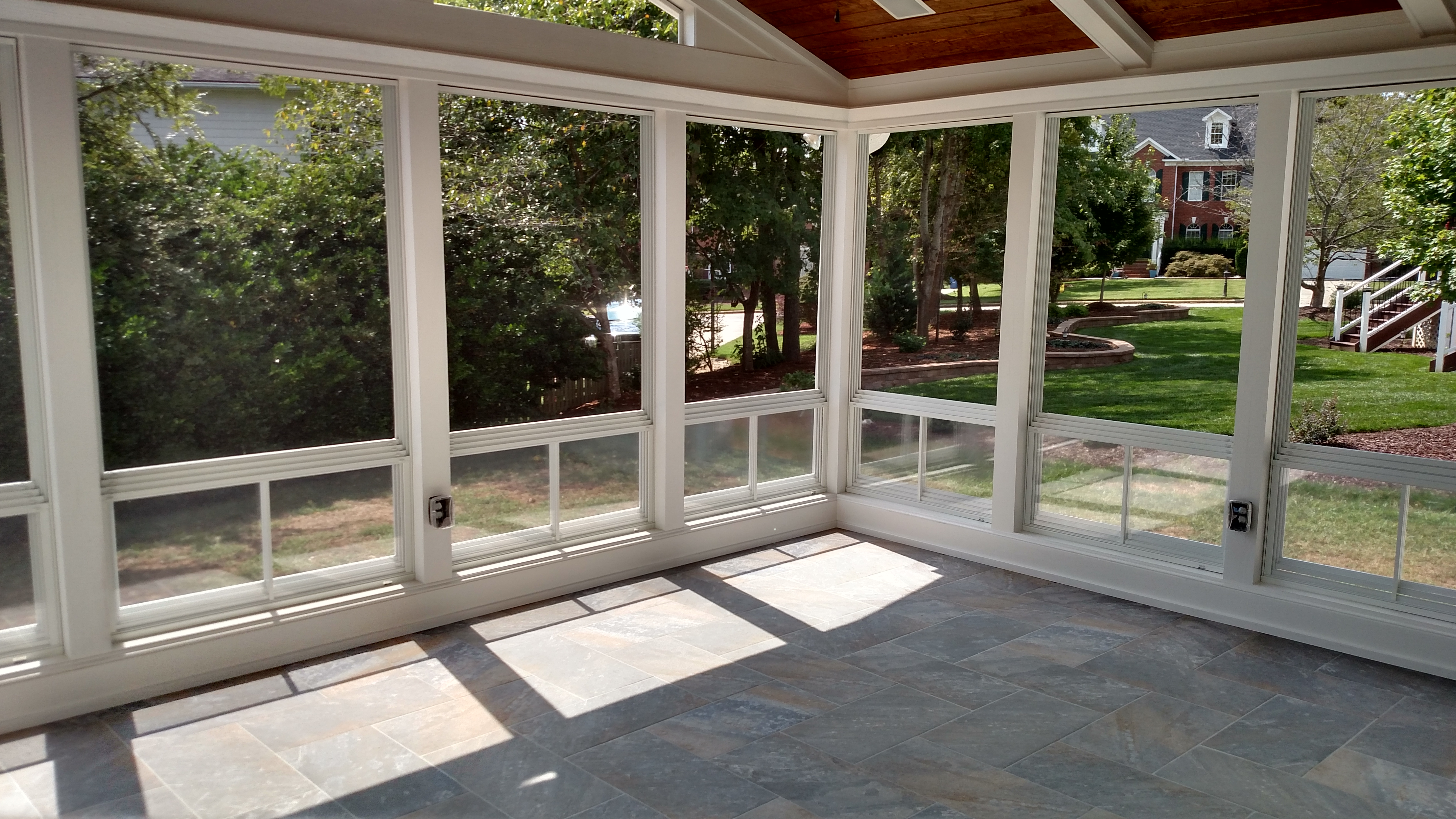 What Is Eze Breeze Raleigh Screen Porch 3 Season Room Builder